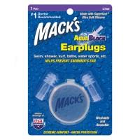 AQUABLOCK® EARPLUGS – CLEAR 1 PAIR