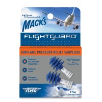 FLIGHTGUARD™ AIRPLANE PRESSURE RELIEF EARPLUGS