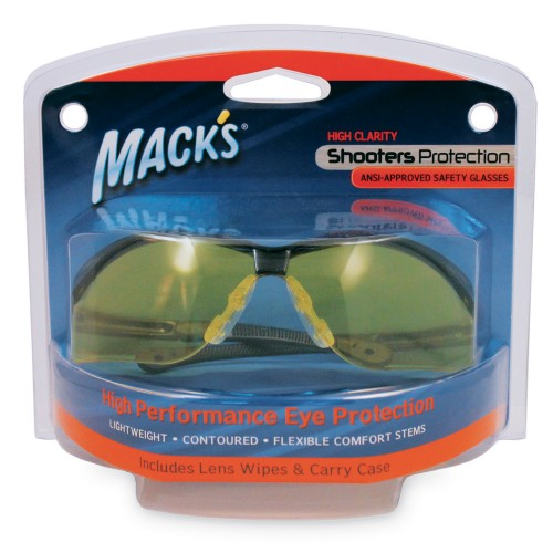 SHOOTERS SAFETY GLASSES (Yellow)