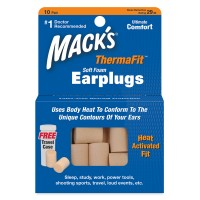 THERMAFIT SOFT FOAM EARPLUGS