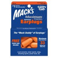 Maximum Protection Soft Foam Ear Plugs