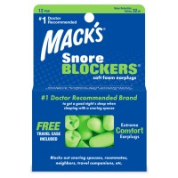 SNORE BLOCKERS SOFT FOAM EARPLUGS