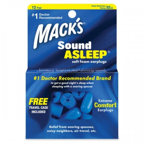 SOUND ASLEEP SOFT FOAM EARPLUGS